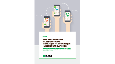 Faktaark: KMD WorkZone Business Process Management