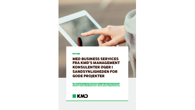 Faktaark: KMD WorkZone Business Services