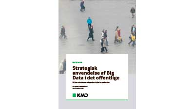 Whitepaper: Strategisk anvendelse af Big Data i det offentlige