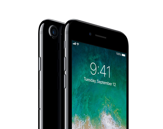 Apple iPhone 7, Jetblack, 256GB